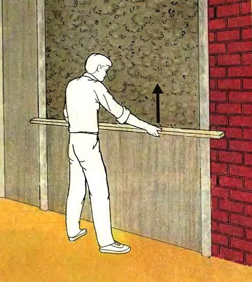 ровные стены
