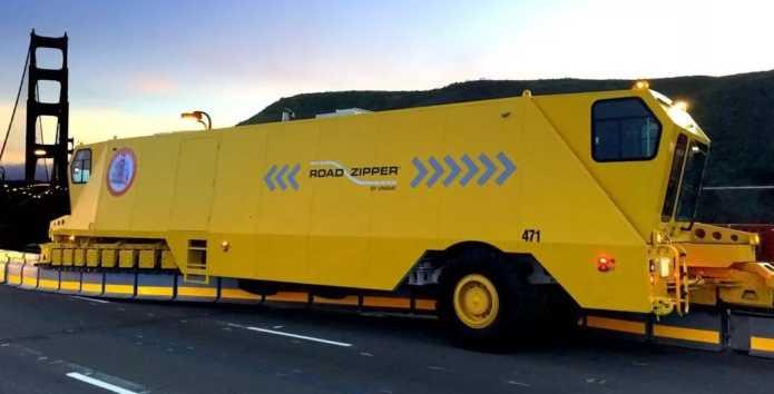 Roadziper car установщик дорожных ограждений, строительные технологии