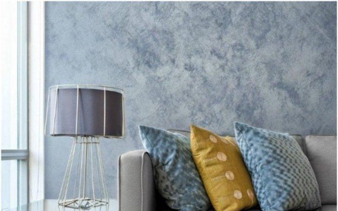 Виды отделки стен красками