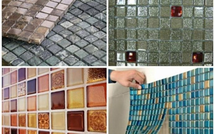 мозаичная плитка на стене